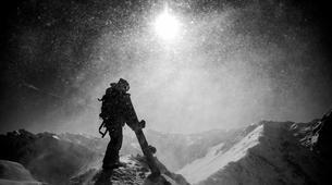 Ski Hors-piste-Saint-Lary-Soulan-Journée Ski Hors-Piste à Saint-Lary Soulan avec Polo De Le Rue-1