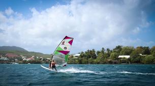 Windsurf-Les Trois-Îlets-Cours de Windsurf à la Pointe du Bout, Martinique-3