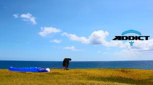 Paragliding-Saint-Leu-Tandem paragliding flight over the lagoon of Saint Leu, Reunion Island-5