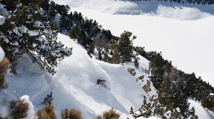 Ski Hors-piste-Saint-Lary-Soulan-Journée Ski Hors-Piste à Saint-Lary Soulan avec Polo De Le Rue-5