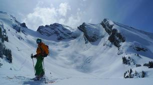 Backcountry Skiing-La Clusaz, Massif des Aravis-Backcountry skiing initiation in La Clusaz-3