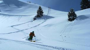 Backcountry Skiing-La Clusaz, Massif des Aravis-Backcountry skiing initiation in La Clusaz-4