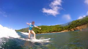 Surf-La Trinité-Cours particuliers de surf sur la Presqu'île de la Caravelle, Martinique-1