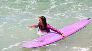 Surf-La Trinité-Cours particuliers de surf sur la Presqu'île de la Caravelle, Martinique-2