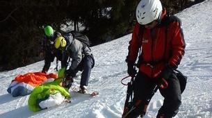 Speedriding-Megève, Evasion Mont Blanc-Stages et Vols découverte Speedriding à Praz sur Arly-4
