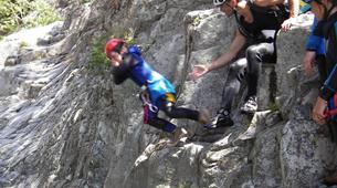 Canyoning-Piana-Descente du canyon du Zoïcu près de Soccia, en Corse du Sud-1