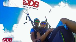 Paragliding-Saint-Leu-Tandem paragliding flight over the lagoon of Saint Leu, Reunion Island-4