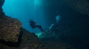 Scuba Diving-Chania-Adventure dive in the Elephant's Cave in Chania-1