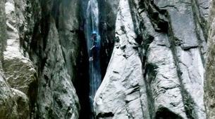 Barranquismo-Corte-Verghellu Canyon near Corte-4