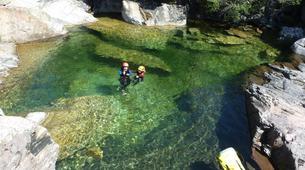 Canyoning-Piana-Descente du canyon du Zoïcu près de Soccia, en Corse du Sud-9