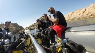 Plongée sous-marine-L'Île-Rousse-Baptême de plongée à Ile Rousse, Corse-2