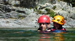 Canyoning-Piana-Descente du canyon du Zoïcu près de Soccia, en Corse du Sud-7