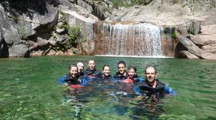 Canyoning-Piana-Descente du canyon du Zoïcu près de Soccia, en Corse du Sud-3