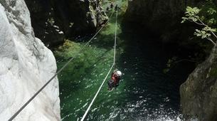 Canyoning-Corte, Centre Corse-Descente du canyon du Verghellu, près de Corte-13