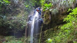Canyoning-Fort-de-France-Canyons Extrêmes de l'Alma ou des Soeurs, Martinique-4