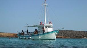 Snorkeling-Paros-Snorkeling boat excursion around Paros-5
