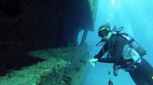 Plongée sous-marine-Paros-Scuba diving PADI courses in Paros-1