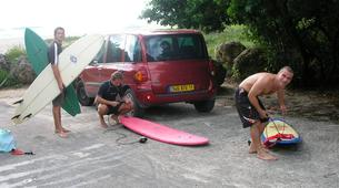Surf-Saint-François-Cours de surf à Saint François, Guadeloupe-6