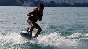 Wakeboarding-Annecy-Boat wakeboarding or wakesurfing beginner private coaching in Lake Annecy-2