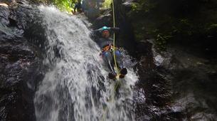 Canyoning-Fort-de-France-Canyon Tropical Découverte en Martinique-4