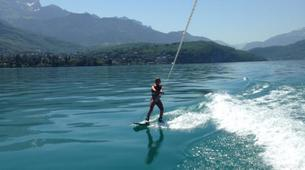 Wakeboarding-Annecy-Boat wakeboarding or wakesurfing beginner private coaching in Lake Annecy-5