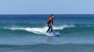 Surf-Caleta de Famara, Lanzarote-Cours de surf à Caleta de Famara, Lanzarote-2