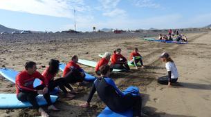 Surf-Caleta de Famara, Lanzarote-Cours de surf à Caleta de Famara, Lanzarote-5