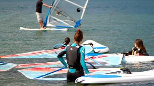 Windsurfing-Lake Como-Windsurfing lessons for adults in Colico, Lake Como-5