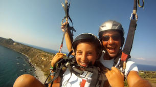 Parapente-Palermo-Tandem paragliding flight in Palermo, Sicily-1