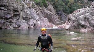 Canyoning-Ardèche-Descente du canyon de la Haute Besorgue, en Ardèche-3