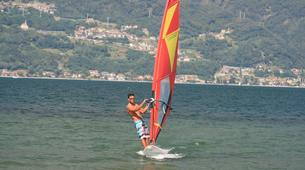 Windsurfing-Lake Como-Windsurfing lessons for adults in Colico, Lake Como-1