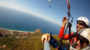 Parapente-Palermo-Tandem paragliding flight in Palermo, Sicily-6