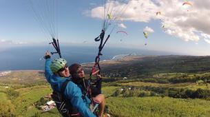 Parapente-Baie de Saint-Leu-Vol Parapente à l'île de la Réunion-5