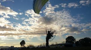 Paragliding-Kefalonia-Tandem paramotor flight over Kefalonia-5