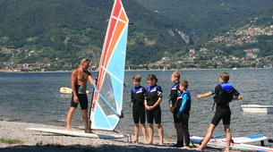 Windsurfing-Lake Como-Windsurfing lessons for adults in Colico, Lake Como-4