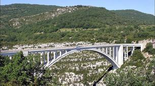 Saut à l'élastique-Gorges du Verdon-Saut à l'élastique du Pont de l'Artuby (182m) dans le Verdon-6