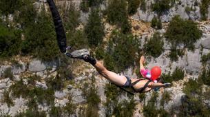 Bungee Jumping-Verdon Gorge-Bungee Jumping from Artuby bridge (182m), in Verdon-4