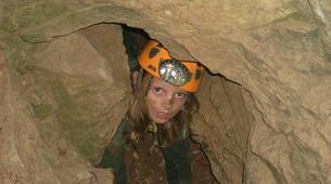 Spéléologie-Ardèche-Spéléologie dans la Grotte des Jeunes en Ardèche-3