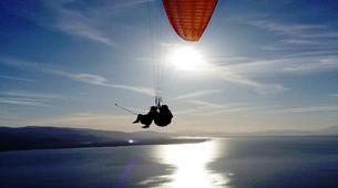 Paragliding-Kefalonia-Tandem paragliding flight above Kefalonia-1