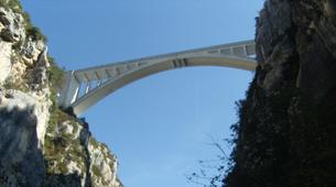 Bungee Jumping-Verdon Gorge-Bungee Jumping from Artuby bridge (182m), in Verdon-6