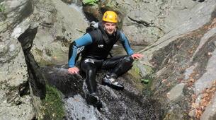 Canyoning-Ardèche-Descente du canyon de la Haute Besorgue, en Ardèche-1