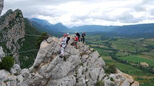 Via Ferrata-Pyrénées Orientales-Via Ferrata à Saint Paul de Fenouillet: La Panoramique-2