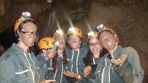 Spéléologie-Ardèche-Spéléologie dans la Grotte des Jeunes en Ardèche-1
