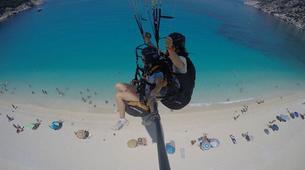 Paragliding-Kefalonia-Tandem paragliding flight above Kefalonia-2