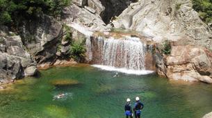 Canyoning-Aiguilles de Bavella-Canyon sportif de Purcaraccia à Bavella, Corse-12