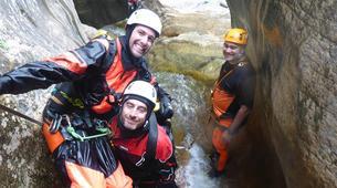 Canyoning-Laruns-Canyon de Soussouéou dans la Vallée d'Ossau, Laruns-2