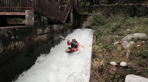 Canoë-kayak-Lourdes-Canoë Kayak dans la vallée des Gaves dans les Hautes-Pyrénées-4