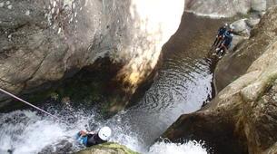 Canyoning-Prades-Canyon des Gorges de Taurinya, près de Prades-3