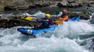 Canoë-kayak-Lourdes-Canoë Kayak dans la vallée des Gaves dans les Hautes-Pyrénées-3