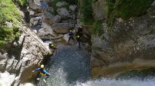 Canyoning-Laruns-Canyon de Soussouéou dans la Vallée d'Ossau, Laruns-3